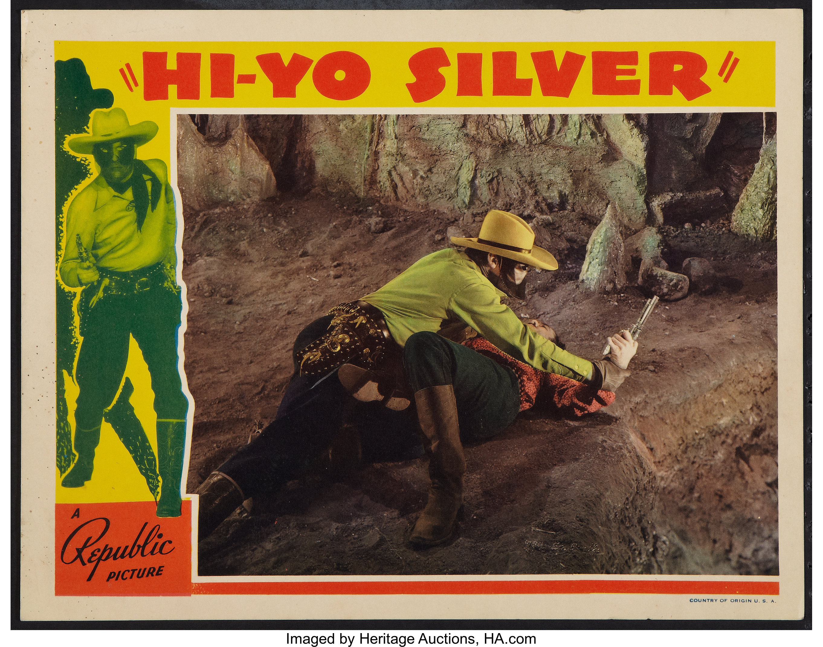 The Lone Ranger (Republic, R 1940). Lobby Card (11