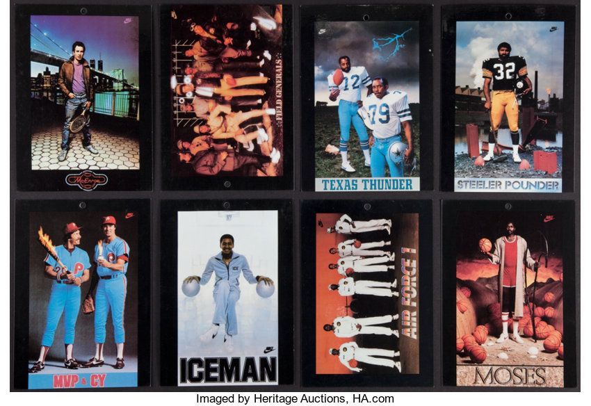Collection27 Cards 1980's Nike Poster Different tCsdxBhQr